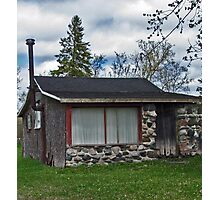 Stonefaced Cottage Photographic Print