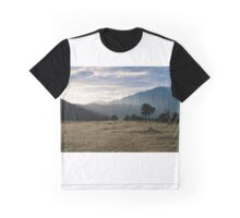 New Zealand Countryside Graphic T-Shirt