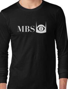 Mordor Broadcasting System (White) Long Sleeve T-Shirt
