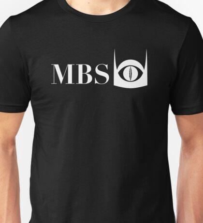 Mordor Broadcasting System (White) Unisex T-Shirt