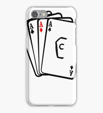 Coffin Squad Aces iPhone Case/Skin