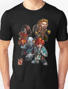 Tiny Fantasy Adventures: Core Party! T-Shirt