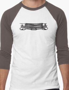 1959 Cadillac Grille Men's Baseball ¾ T-Shirt
