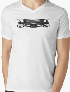 1959 Cadillac Grille Mens V-Neck T-Shirt