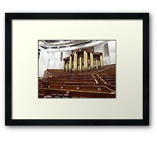 Organ at LDS Tabernacle Framed Print