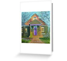 No. 20 of 100 Salt Lake City Porches Greeting Card