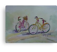 Another Girlie Duo Canvas Print
