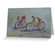 Another Girlie Duo Greeting Card