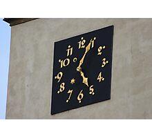 More Czech Clocks Photographic Print
