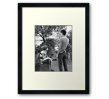 The Approach Framed Print