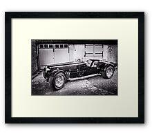 NGTC V8 Framed Print