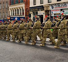 Black Watch marched through Dundee - April 20th 2012 by Forfarlass
