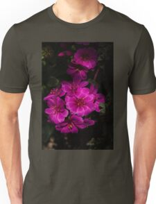 A Vivid Succulent Bouquet in Bold Pink and Fuchsia Unisex T-Shirt