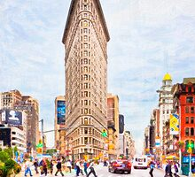 New York City Flatiron by Mark Tisdale