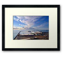 Dover Docks  Framed Print
