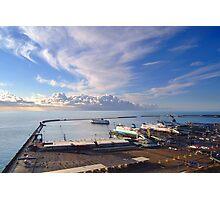 Dover Docks  Photographic Print