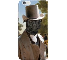 Staffordshire Bull Terrier Art - Politicians in the Tuileries Gardens iPhone Case/Skin