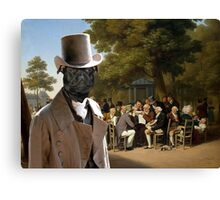 Staffordshire Bull Terrier Art - Politicians in the Tuileries Gardens Canvas Print