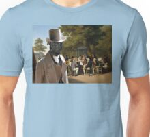 Staffordshire Bull Terrier Art - Politicians in the Tuileries Gardens Unisex T-Shirt