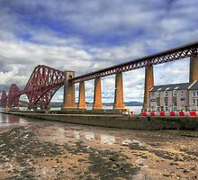 Bridge and RNLI by Tom Gomez