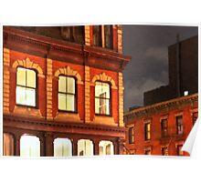Gotham By Night - New York City Poster