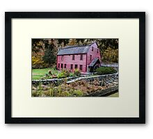 Gilbert Stuart Birthplace and Mill Framed Print