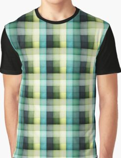 Chequered blues. Graphic T-Shirt