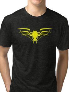 Spider-Bat (Yellow) Tri-blend T-Shirt