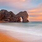 Durdle Door Sunset, Dorset by Robin Whalley