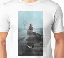 Out on the wiley, windy moors Unisex T-Shirt