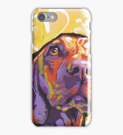 Vizsla Dog Bright colorful pop dog art iPhone Case/Skin