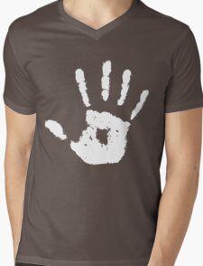 Dark Brotherhood hand Mens V-Neck T-Shirt