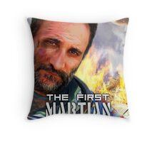 The First Martian Throw Pillow