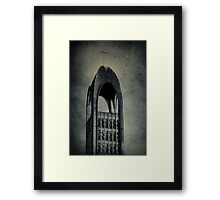 Westminster Abbey Tower Framed Print
