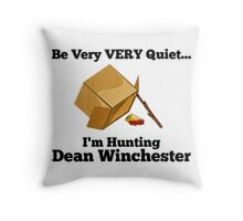 Dean Trap by @nekothesunshine Throw Pillow