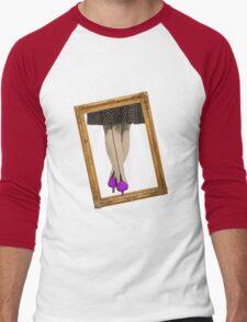 Hot Shoes - Purple! Men's Baseball ¾ T-Shirt