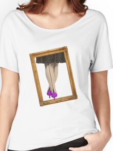 Hot Shoes - Purple! Women's Relaxed Fit T-Shirt