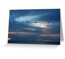 Sunrise, Brooms Head Northern NSW Greeting Card