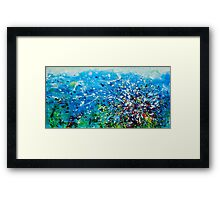 Fish Galore Framed Print
