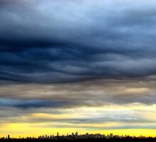 New York City Sky by Alberto  DeJesus