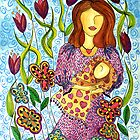 Mother's Arms ~ always open for a hug by Lisa Frances Judd~QuirkyHappyArt