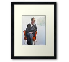 The Writer -2012 Framed Print