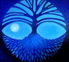 Blue Tree by Georgie Greene