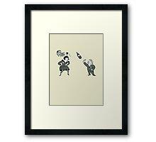 Telekinesis Advert Framed Print