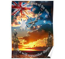 LEST WE FORGET... Poster