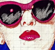 Pop Girl Sticker