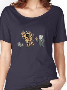 incinerate advert Women's Relaxed Fit T-Shirt