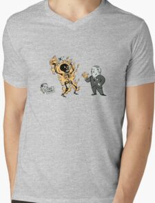 incinerate advert Mens V-Neck T-Shirt