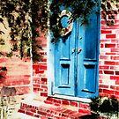 Blue Door  by Sandra Lee Woods