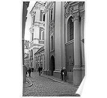 Poznan street scene Poster